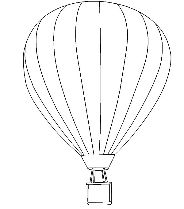 Air Balloon Drawing at GetDrawings.com | Free for personal use Air ...