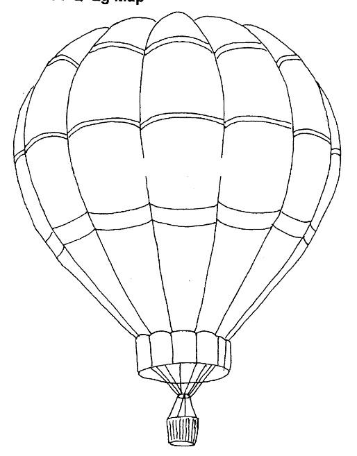 514x657 Hot Air Balloon Drawing