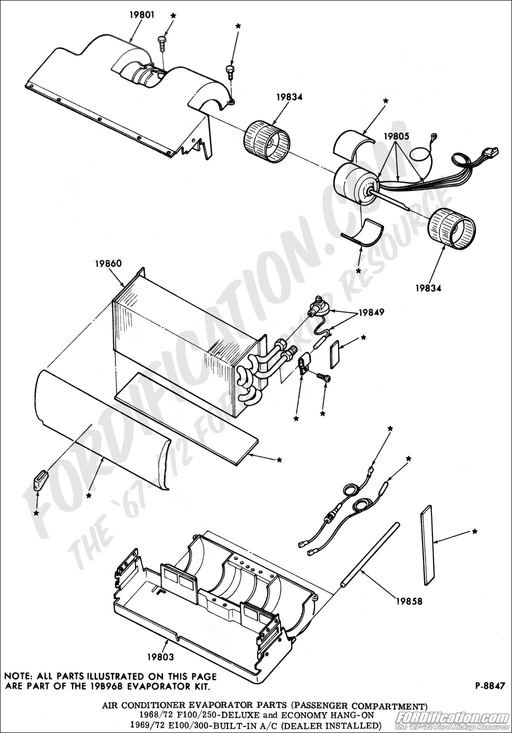 Air Conditioner Drawing At Free For Personal Use Ford Conditioning Systems 1024x1465 Truck Technical Drawings And Schematics