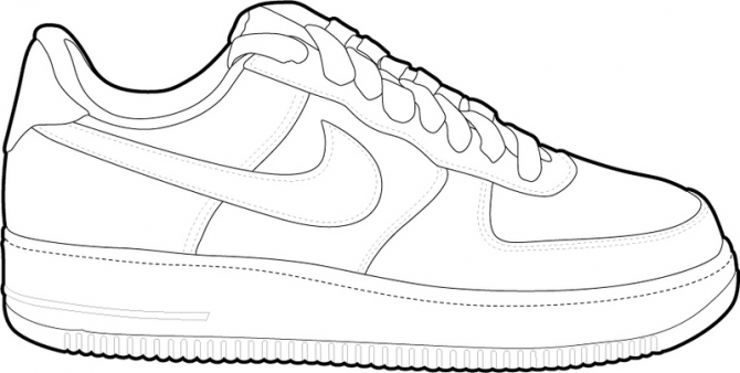 air force 1 drawing at getdrawings com