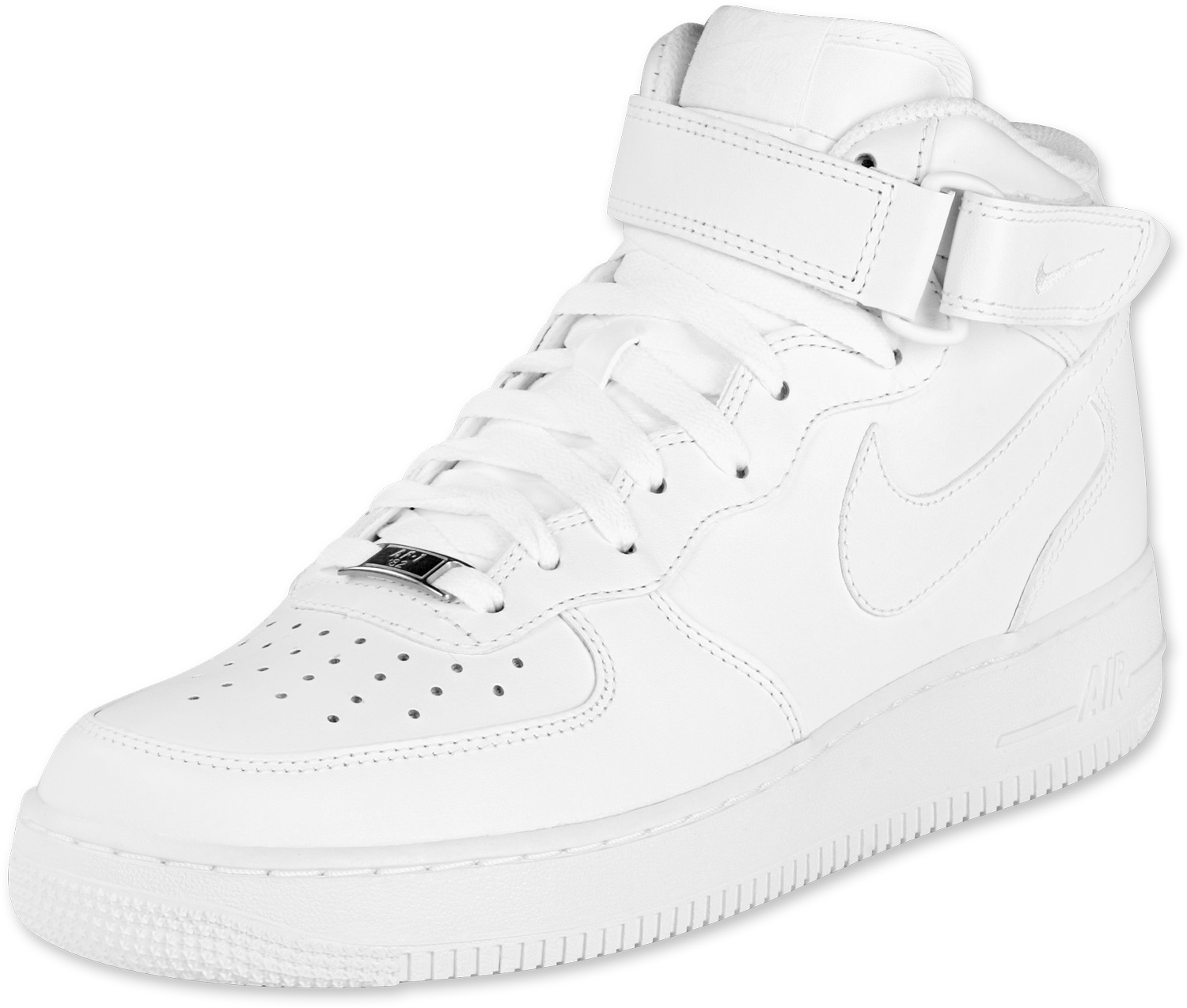 1500x1274 Air Force 1 Mid Shoes White