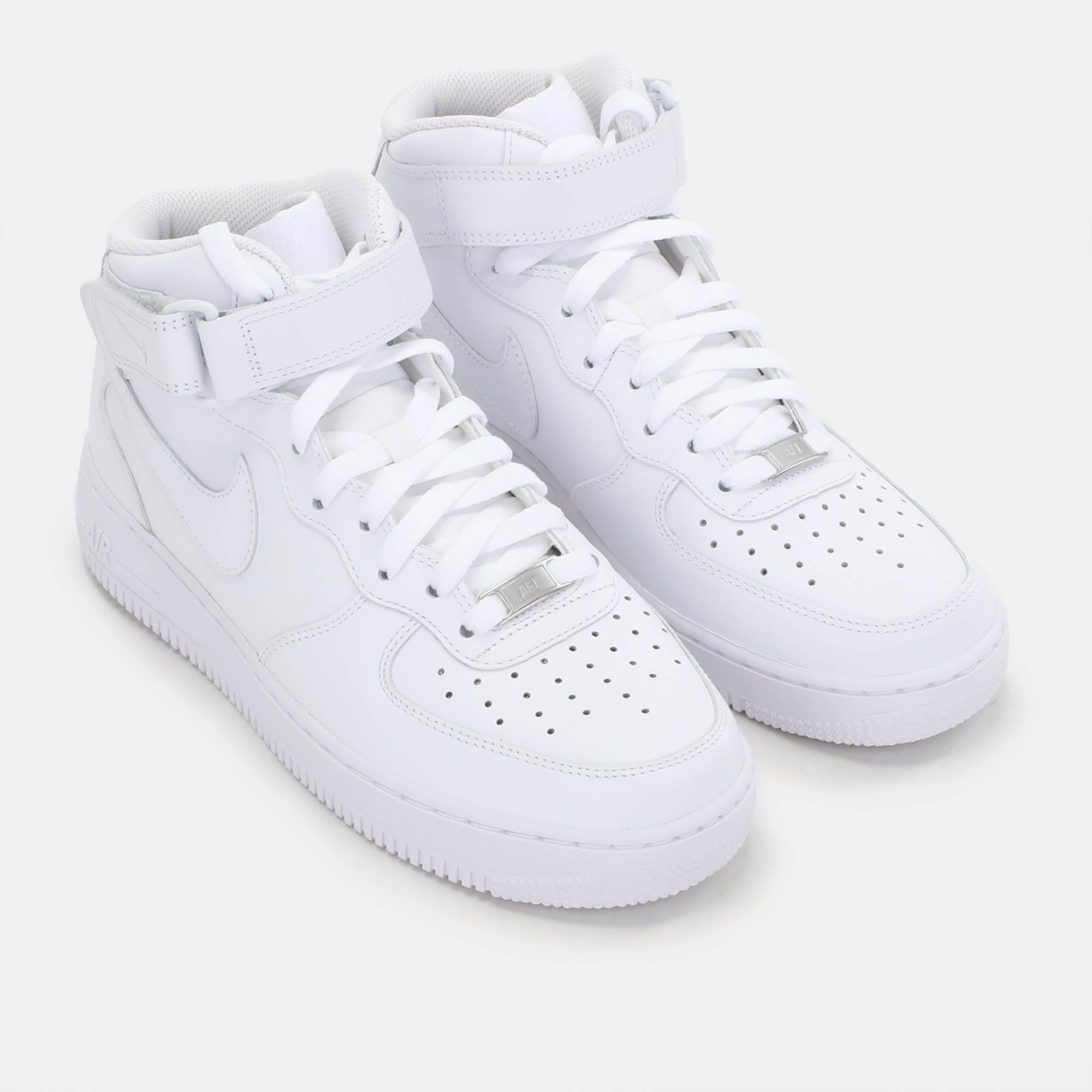 2000x2000 Shop White Nike Air Force 1 Mid