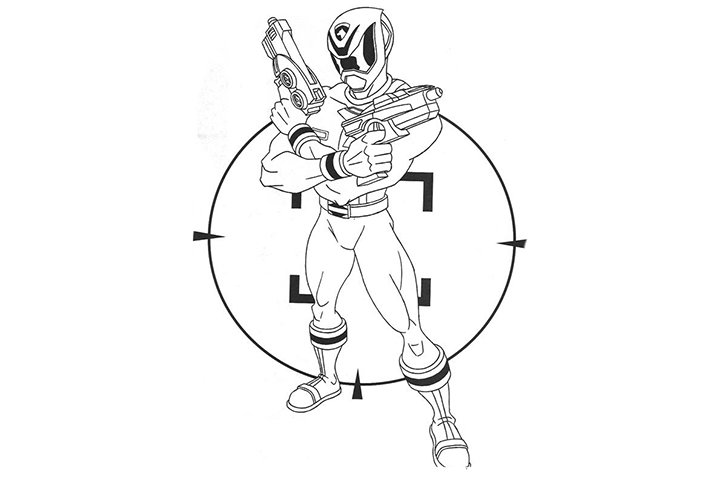 720x480 Top 35 Free Printable Power Rangers Coloring Pages Online