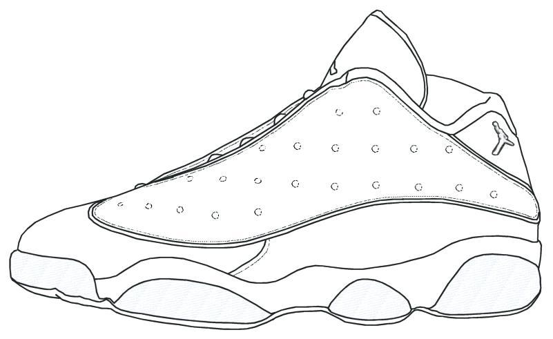 801x491 Jordan 11 Coloring Sheet Free Jordan 11 Coloring Sheet