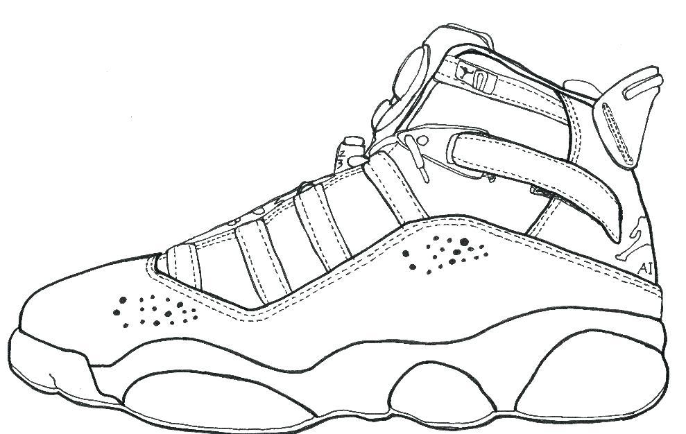 989x626 Jordan Coloring Page View Larger Air Jordan 11 Coloring Pages