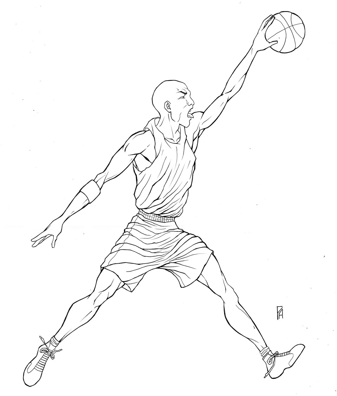 1121x1314 How To Draw Michael Jordan Symbol Gallery