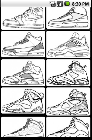 307x469 Air Jordan 2 Drawing Number 4 Trainers Outlet