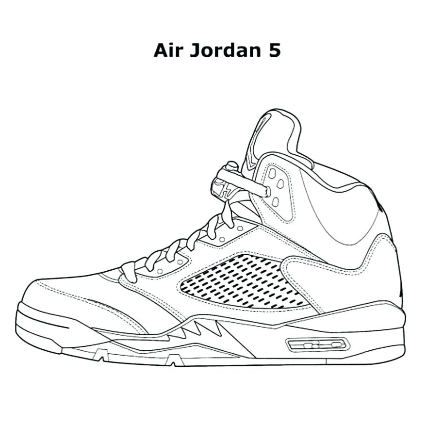 878x878 Jordan Coloring Page Coloring Sneakers Shoes Coloring Pages