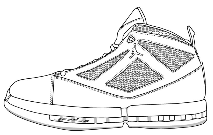 822x522 Sneaker Templates