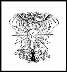 236x250 Us Army Airborne Drawing By Scarlett Royal