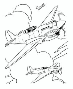 236x287 Free Wwii Aircraft Printables Aircraft Drawings Military