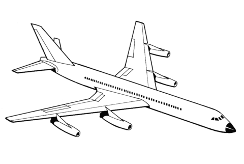480x322 Airplane Coloring Page Free Printable Coloring Pages