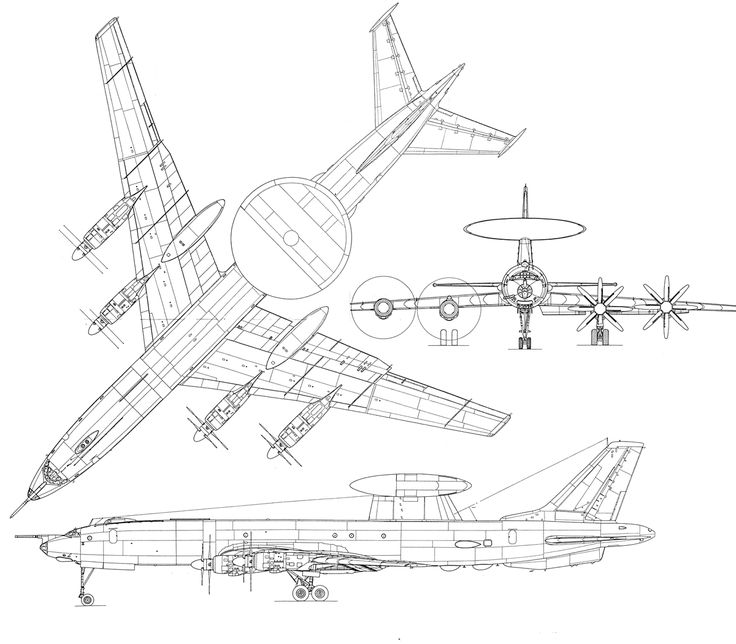 Aircraft Line Drawing