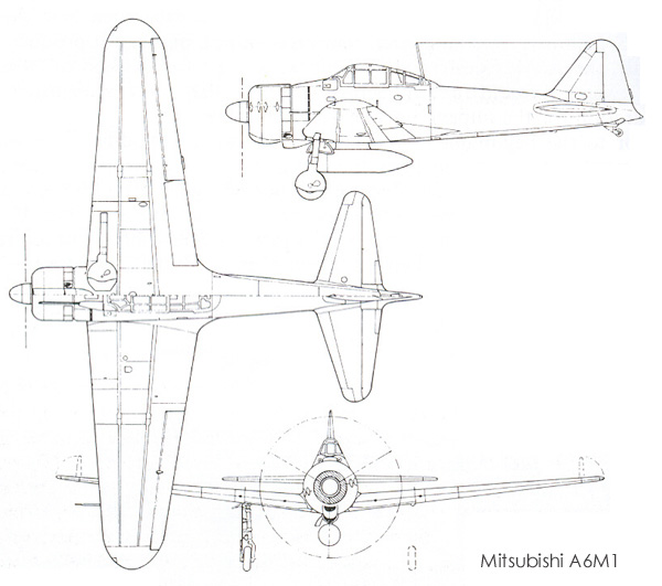 Aircraft line drawing at getdrawings free for personal use 600x531 mitsubishi a6m reisen zero sen malvernweather Choice Image