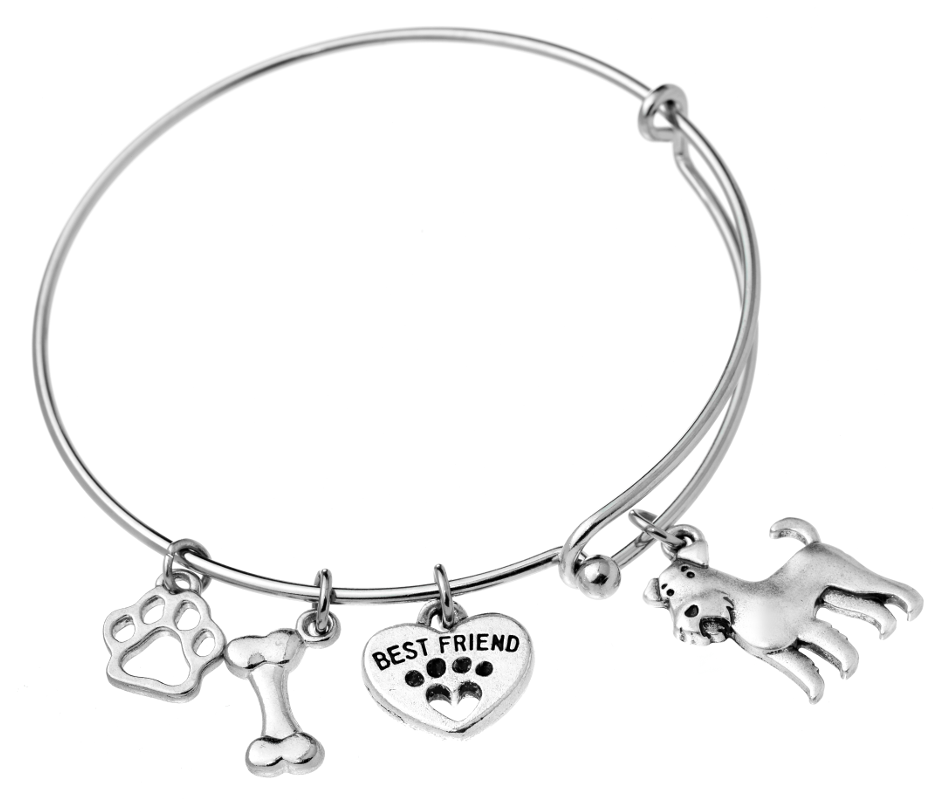 948x804 Airedale Terrier Bangle Bracelet Lolawawa'S