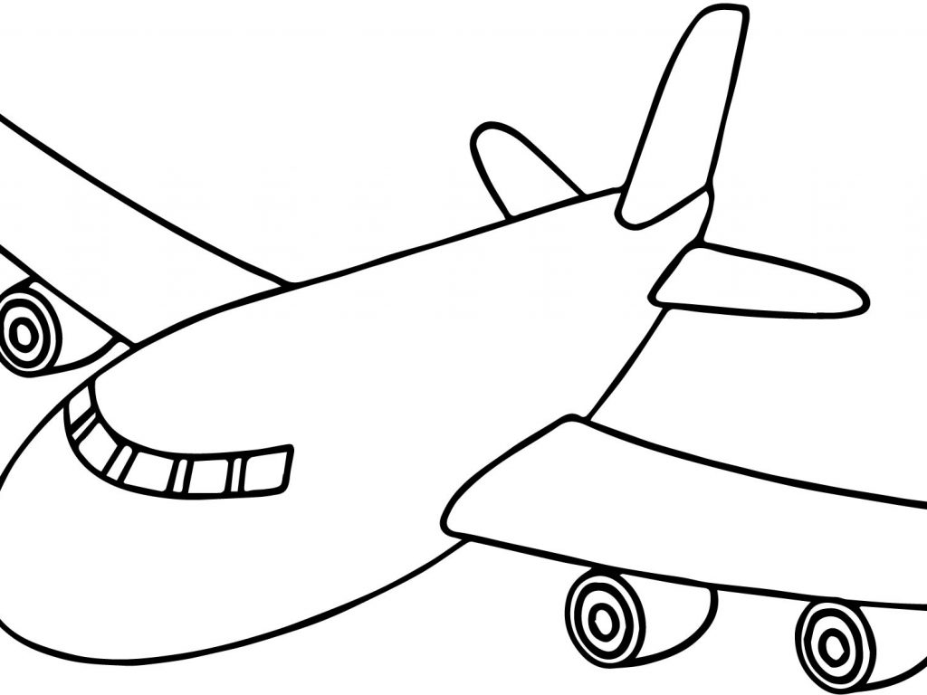 Airplane Drawing Cartoon