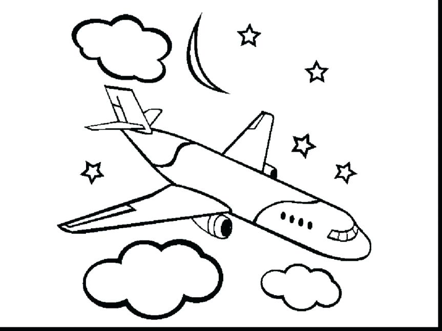 863x647 Coloring Plane Cartoon Coloring Plane With Faces Live Transport