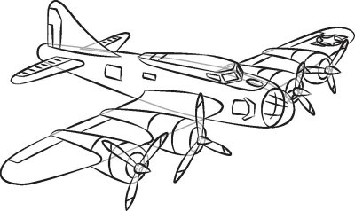400x238 How To Draw World War Ii Planes In 7 Steps Planes, Drawings