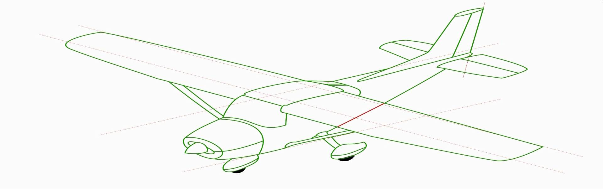 1920x607 How To Draw Aeroplanes Step By Step