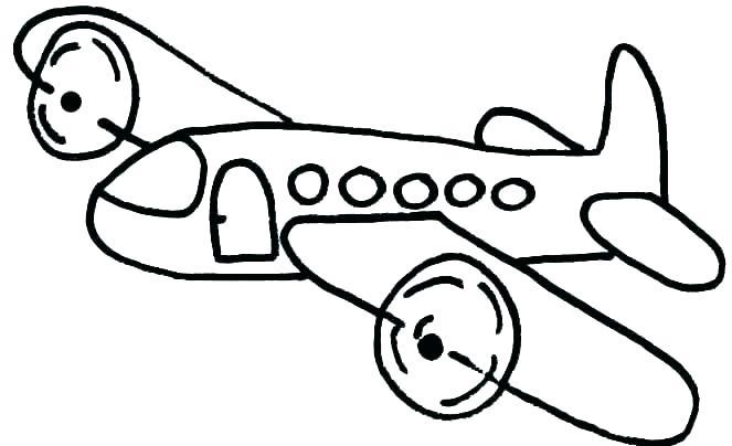 663x404 Plane Coloring Page Cortefocal.site