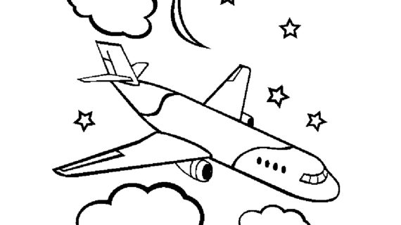 Airplane Drawing Images