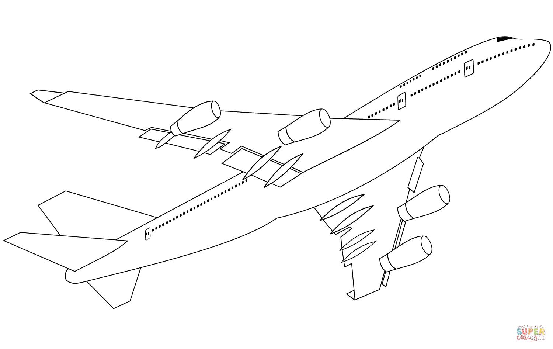airplane drawing top view at getdrawings com