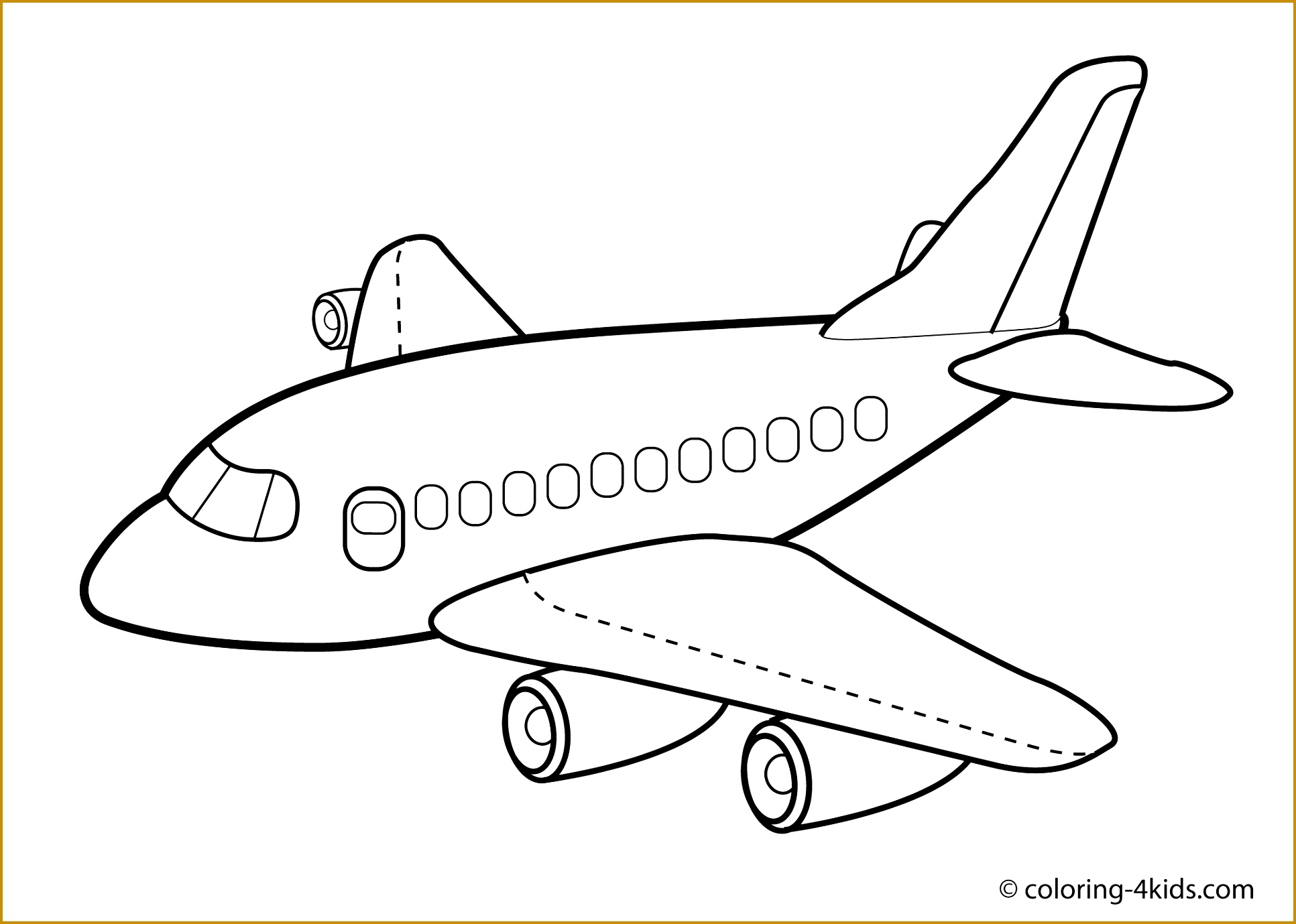 Airplane Images Drawing