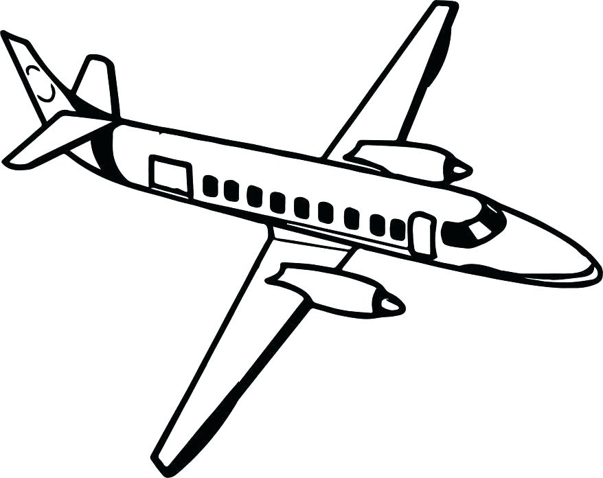 Airplane Line Drawing at GetDrawings.com | Free for personal use ...