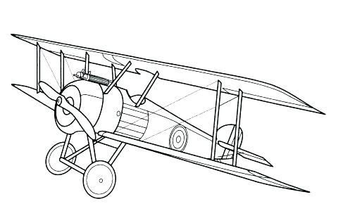 487x300 Airplane Coloring Pages Plane Coloring Page Plane Coloring Page