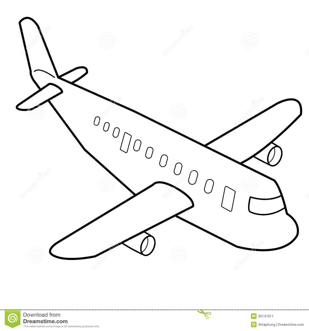 Airplanes Drawing