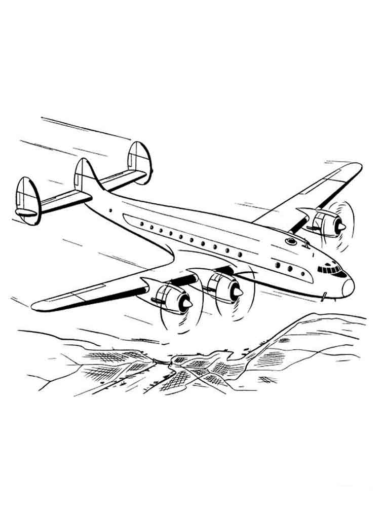 750x1000 Airplanes Coloring Pages Download And Print