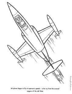 236x305 Coloring Pages Of Airplanes For Kids Airplane Coloring Sheets