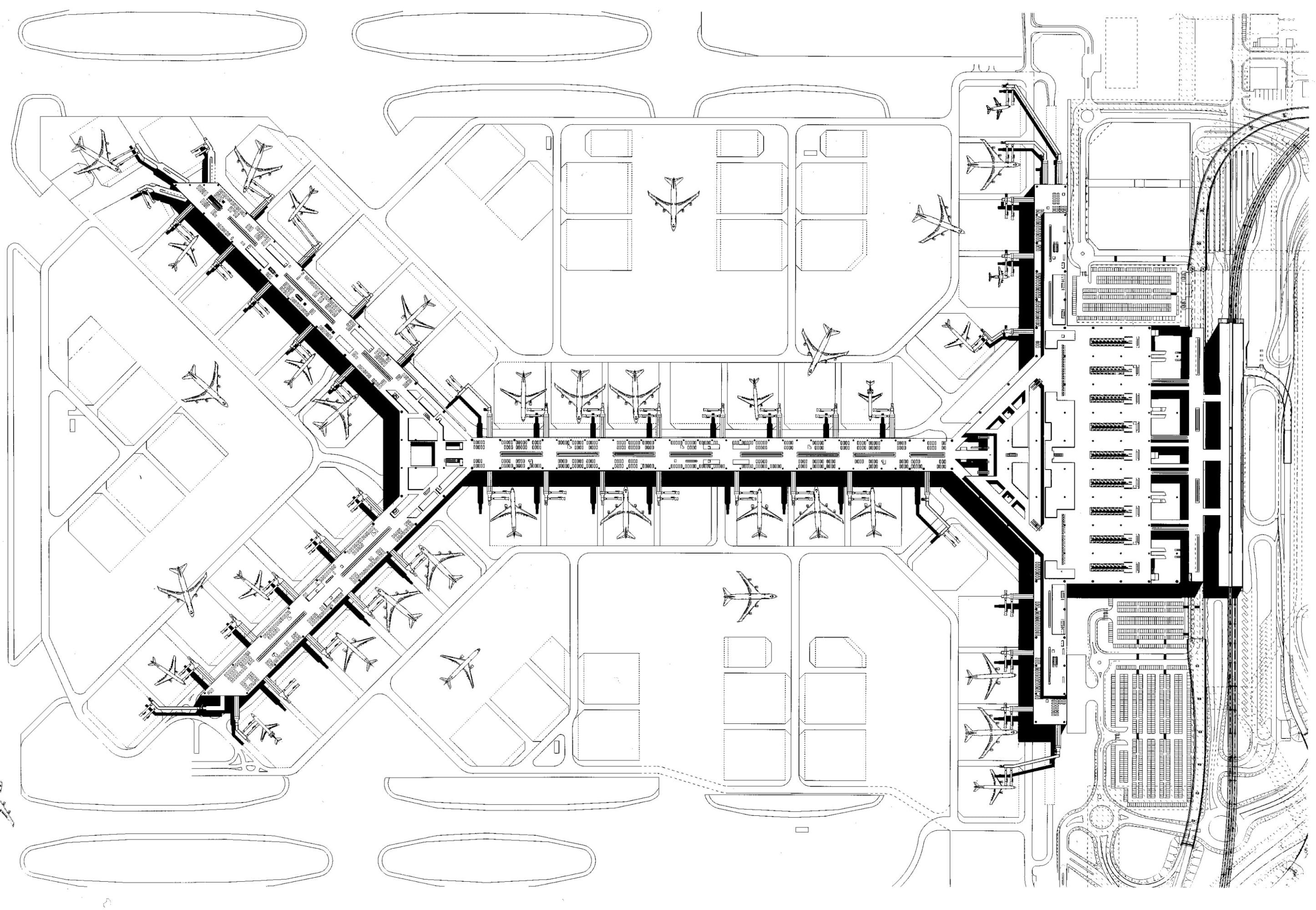 2892x2000 Foster + Partners, Sair Europe, Dennis Gilbert Chek Lap Kok