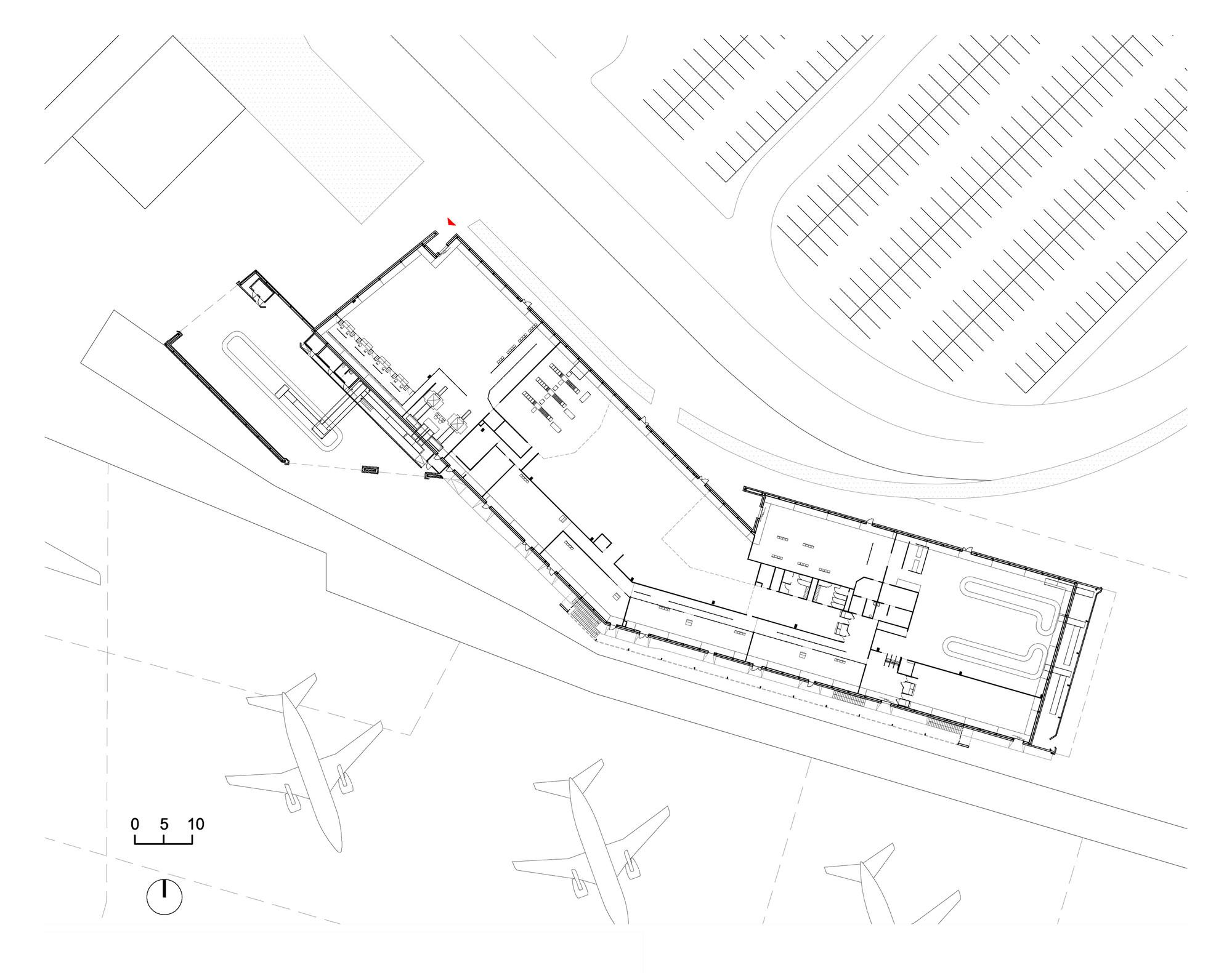 2000x1581 Gallery Of Lowcost Airport In Bordeaux Marjan Hessamfar Amp Joe