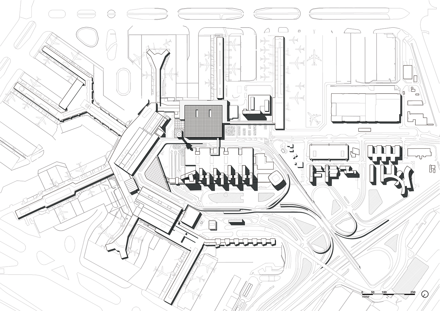 1500x1060 Amsterdam Airport Schiphol Terminal Designed As As Light Filled