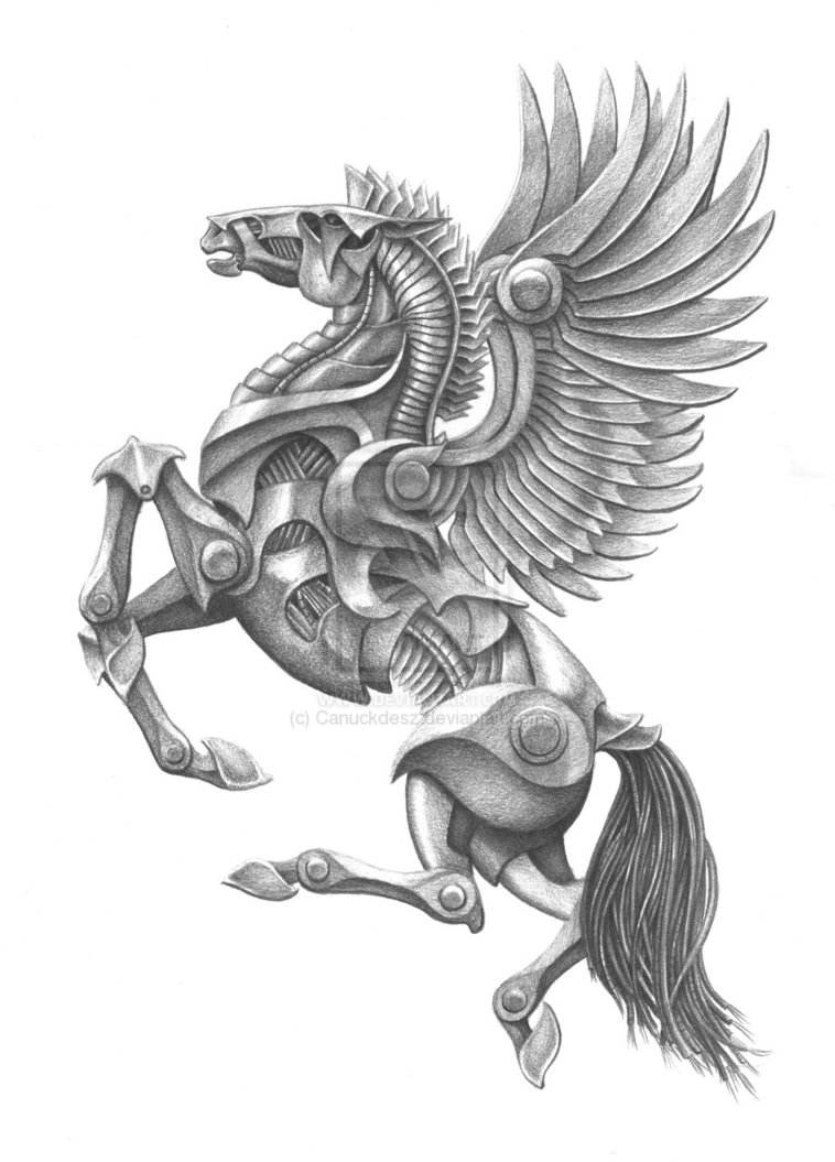 758x1055 Mythical Pencil Art Pencil Drawings Of Mythical Creatures Aj Dodge