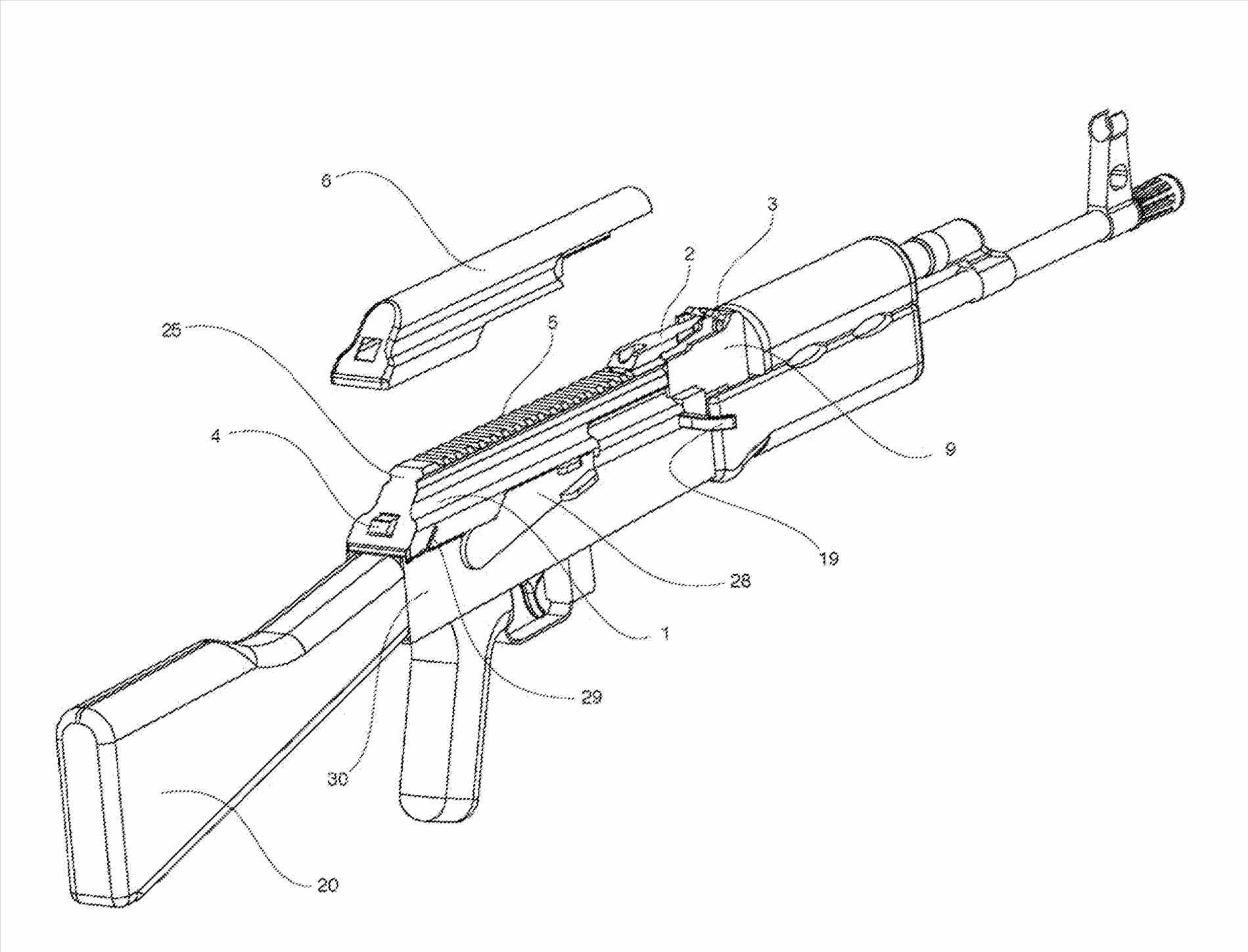 Ak 47 Drawing at GetDrawings.com | Free for personal use Ak ... Ak Schematic on