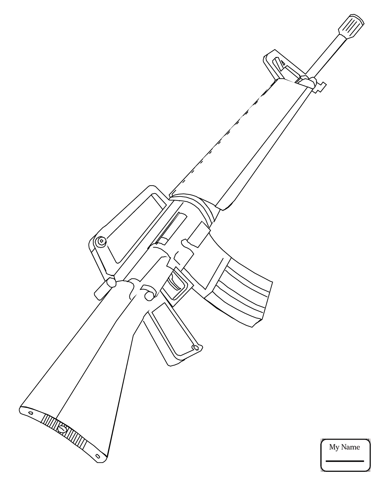 Ak 47 Drawing at GetDrawings com | Free for personal use Ak 47