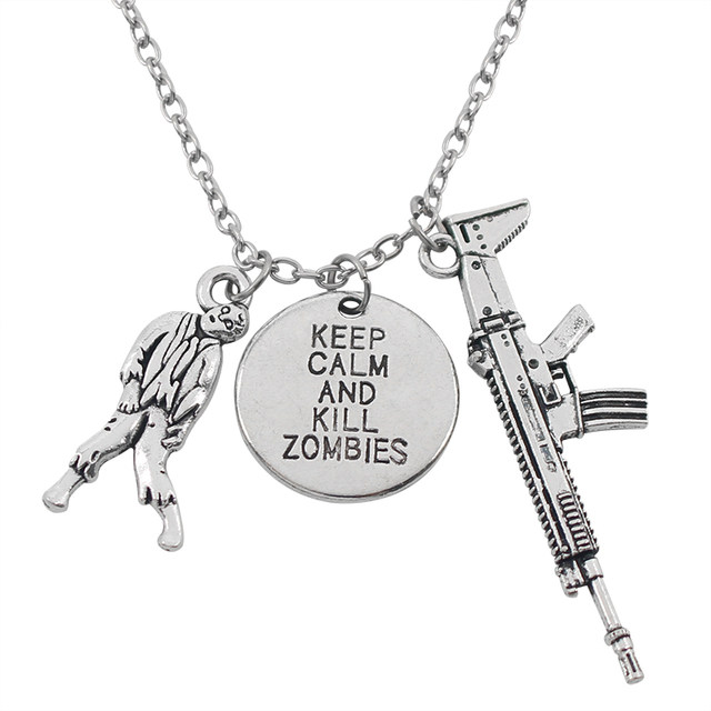 640x640 Online Shop Classic Trendy Movie The Walking Dead Choker Necklaces