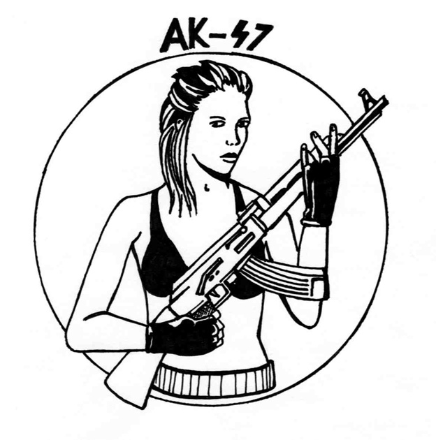 624x630 The World's Best Photos Of Ak47 And Comics