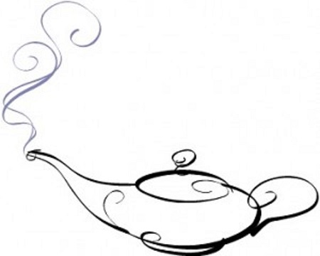 Aladdin Lamp Drawing