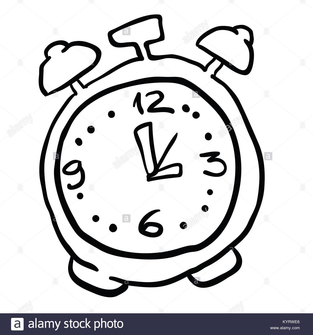 Alarm Clock Drawing