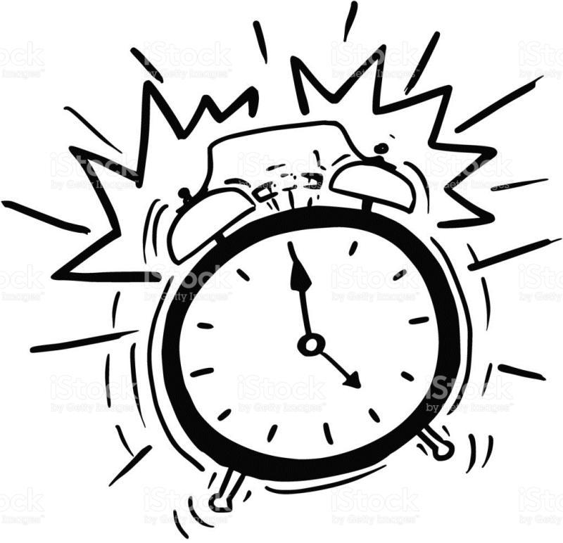 800x772 Alarm Clock Ringing Clipart