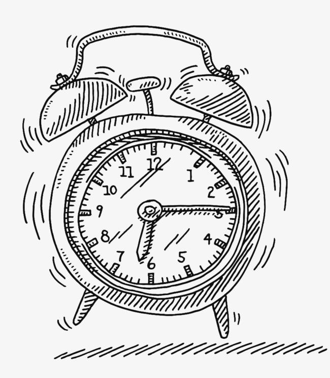 650x744 Alarm Clock Vector, Line, Doorbell, Timing Png Image For Free Download