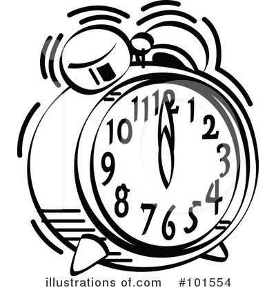 400x420 Alarm Clipart Black And White