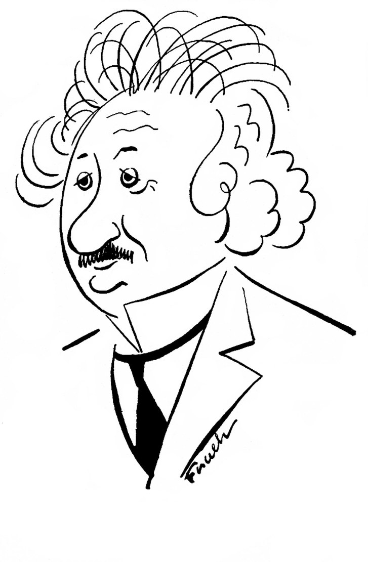 727x1111 Albert Einstein Scientist And Mob Idol The New Yorker