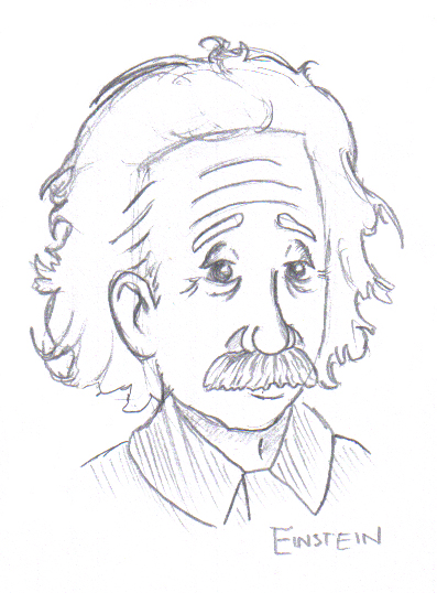 397x538 Albert Einstein By Estranged Illusions