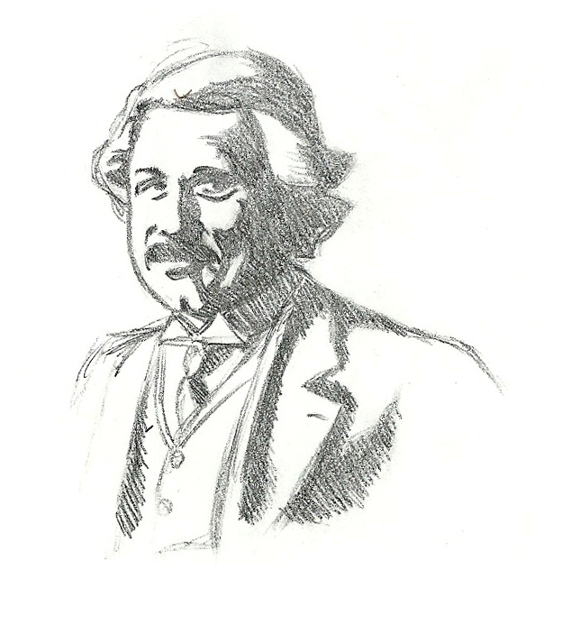 624x693 Albert Einstein Sketch By Cagscreations