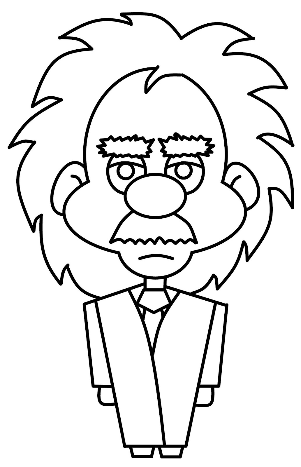 1033x1600 How To Draw Cartoons Einstein