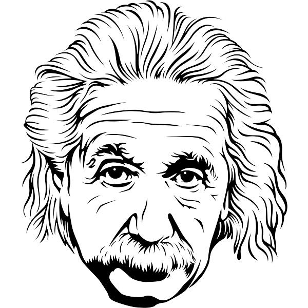 600x600 Vinilos Decorativos Albert Einstein 2 Vinilos Decorativos